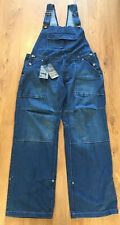 True Face Navy Blue Dungarees Overalls Jeans XXL