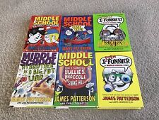 New ListingSix Middle School Series Novels By James Patterson (Hardcovers)