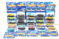 31 pc Hot Wheels Chevy Die Cast Car Lot 1996-2004 Mattel Chevlle+Shoe Box+++NOC