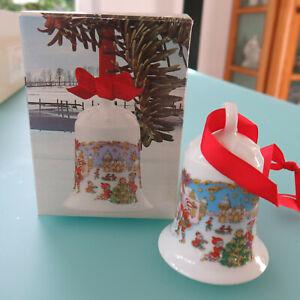 Hutschenreuther Weihnachtsglocke1987, originalverpackt, limitiert