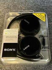 Brand New Sony MDRZX110AP ZX Series Extra Bass Smartphone Headset w/ Mic (Black)