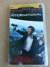 The International (UMD, 2009) for PSP, Clive Owen, Naomi Watts NEW, SEALED!
