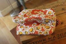 Vintage Padded Fabric Tea Cosy / Pot Warmer – Flowers – Retro! –