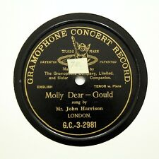"M. John Harrison ""Molly cher"" simple face GRAMOPHONE CONCERT GC3-2981 [78 tours]"
