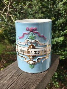 Antique Russian Imperial Pre Revolutionary Porcelain Mug Kornilov Kuznetzov 1850