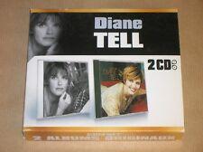 BOX 2 CD / DIANE TELL / DEGRIFF MOI + TOUT DE DIANE / EXCELLENT ETAT