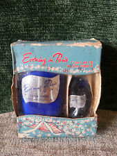Evening in Paris Toilet Water Talcum Powder Rare Box Set ~ A Must Have!!