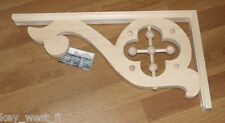 "Victorian Wood Gingerbread { 22"" x 11"" } Porch & House Trim Bracket #32 ~ by Pld"