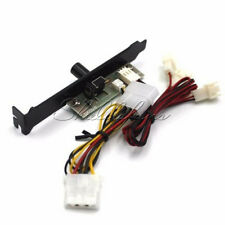 For CPU Case HDD DDR VGA 3 Channels PC Cooler Cooling Fan Speed Controller