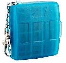 Speicherkartenetui JJC MC-12B für Nintendo Switch + Micro SD blau