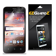 1X Ezguardz Lcd Screen Protector Shield Hd 1X For Zte Overture 2 (Ultra Clear)