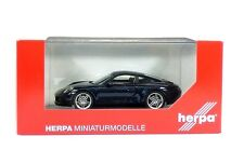 Herpa Porsche 911 Carrera 4 Coupe, dark blue metallic 1:43 (071093)