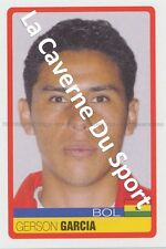 N°044 GERSON GARCIA # BOLIVIA STICKER PANINI COPA AMERICA VENEZUELA 2007