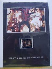SPIDER-MAN MOVIE FILM PIECE - COLLECTORS MEMORABILIA - 1 ST MOVIE - SCARCE!! NM