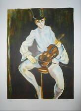 Gabriel Dauchot Lithographie originale Signée numérotée expressionnisme art
