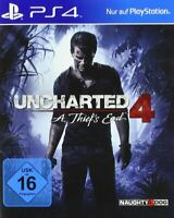 Uncharted 4: A Thief's End [PlayStation 4] PS4 OVP