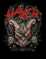 SLAYER cd lgo Not Of This God DEMON HEAD Official SHIRT XL New world painted