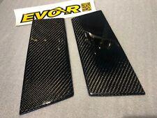 Carbon fiber B pillars for all Nissan 350Z Z33 EVO-R 3K Cross weave