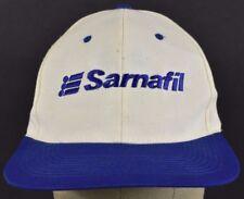 White Sika Sarnafil Roofing Embroidered baseball hat cap Adjustable Snapback