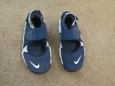 Girls NIKE Rift navy blue and grey trainer shoes size UK 11.5 kids