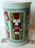 Royal Norfolk Nutcracker Christmas Stamps Cocoa or Coffee Christmas Mug