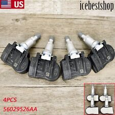 4pcs OEM TPMS Tire Pressure Sensor For Chrysler Dodge Jeep 56029526AA 315MHz US