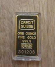 1 Unze Fine Credit Suisse TOP!