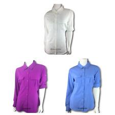 New Womens COLUMBIA Arrowhead Trail II Omni Shade Wick long sleeve shirt blouse