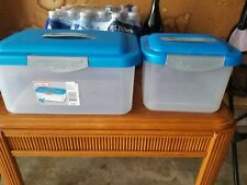 Sterlite  Storage Case - Lot Of 2. Free shipping!!