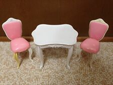 Bratz World Mansion Funky Glam Kitchen Table Chairs Dining Room House Furniture