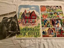 """More details for june 1964 poster of the house that jack built by marjorie anderson 18""""x2ft"""