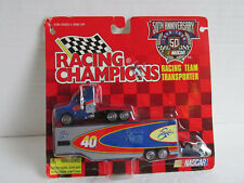 VTG NASCAR 40  Team Sabco Transporter with mini car, in package NOS