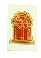 Franklin Mint Georgia emblems of American Railroads bar in sterling silver