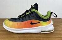 Nike Air Max Axis LU2 Black Volt Orange SIZE 8C AV7591-001 Kids Childs Toddler
