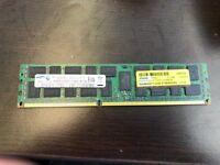 Samsung 8GB 1x8GB PC3L-10600R DDR3-1333 M393B1K70CHO-YH9 Reg Ecc Server Memory