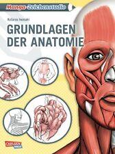 Manga-Zeichenstudio: Grundlagen der Anatomie - Deutsch - Carlsen Manga - NEU