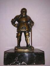 Bronzefigur Ritter Mann Kämpfer