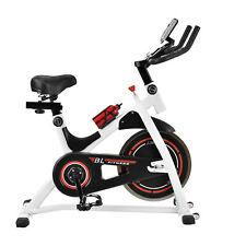 [in.tec] Heimtrainer Fahrrad Fitness Bike Trimmrad Indoor Cycling Rad Sattel