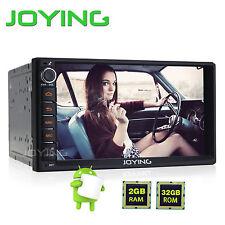 US Stock 7'' Double 2Din HD CarRadio Stereo 4g No-DVD GPS Sat Nav Player DAB+ SD