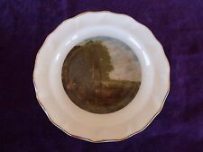 """VTG 4 3/4"""" Royal Sutherland Plate """"A View on the Stour"""" John Constable England"""