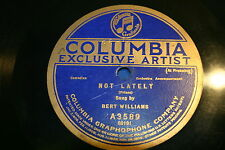 78 rpm Vinyl Columbia  Delia & In My Heart,On My Mind All Day Long-Frank Crumit