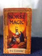 1997 NORSE MAGIC D.J. Conway LLEWELLYNS WORLD MAGIC SERIES paperback pre-owned