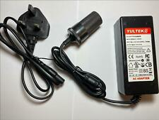 12V 5A 5000mA AC-DC Switching Adaptor Power Supply with Car Socket 12VDC CLA