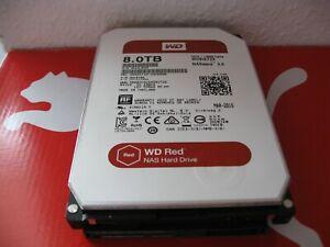 Western Digital RED 8000 GB / 8TB WD80EFZX 68UW8N0 SATA Festplatte WD WEAK