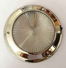Dome light 12V 140MM Base Interior Stainless Steel Boat Chandlery /Boat / Yacht