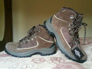 Northwest Territory Womens Leather Waterproof Walking/hiking boots. 7.MADE IN UK