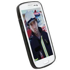 Étuis, housses et coques noirs Krusell pour téléphone mobile et assistant personnel (PDA) Samsung