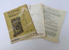 Vintage Electro-Voice Ev Patrician Iv Plans Blueprints - Original Not A Reprint