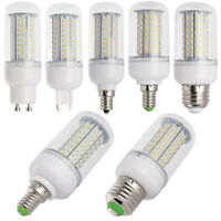 Dimmable LED Corn Bulb E12 E26 E27 E14 GU10 G9 Light Lamp Incandescent 25W -110W