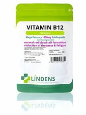 Vitamine B-12 1000mcg Haute Puissance 1 par jour 100 Comprimés Lindens